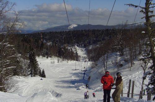 На лыжах в Адыгее