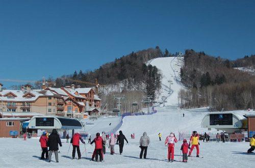 Лыжная база отдыха в Китае