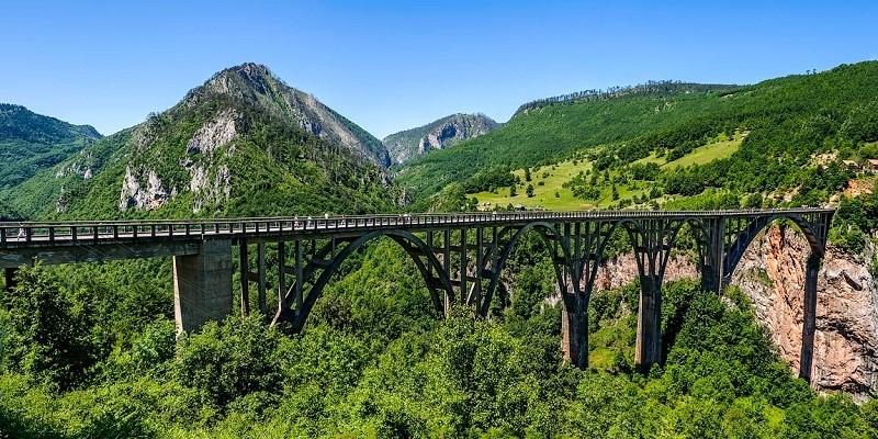 Каньоны Черногория