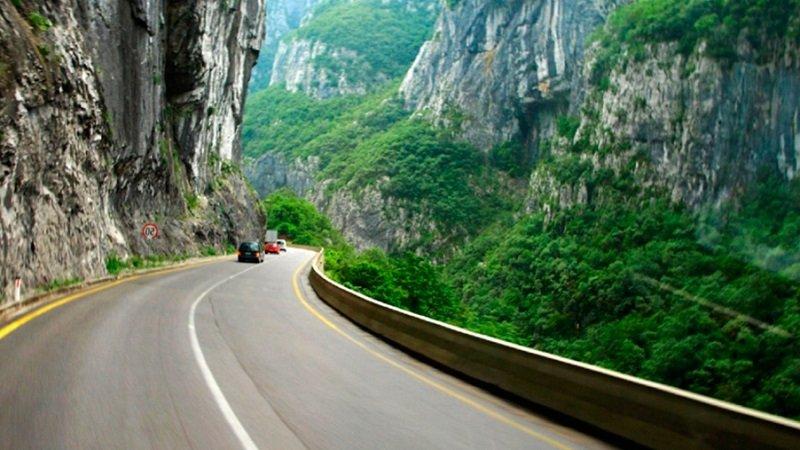 Дороги в Черногории