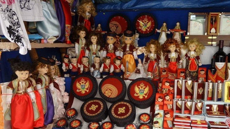 Традиционные сувениры Черногории