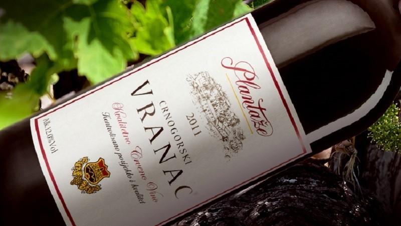 Вино Черногории вранац