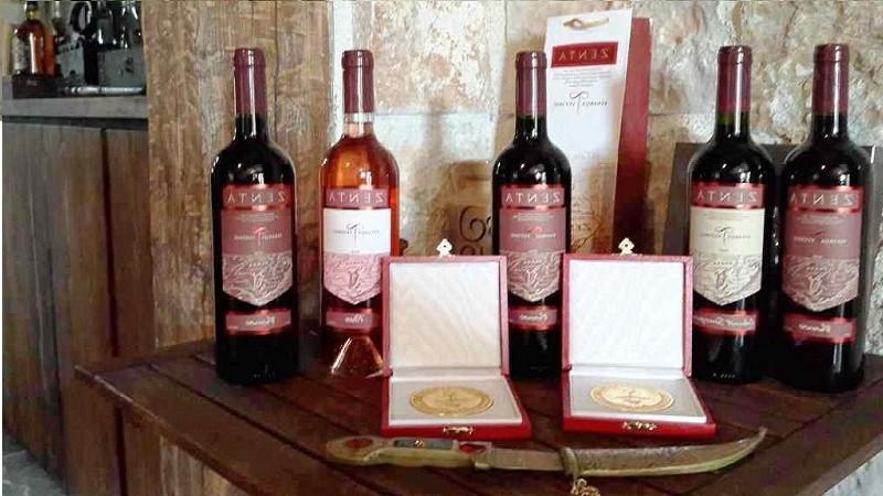 Ассортимент вина крстач