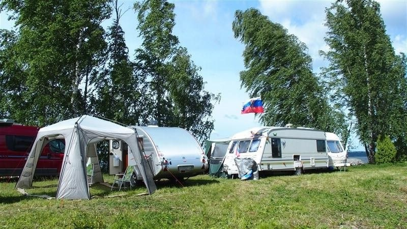 Автокемпинги в Ленинградской области