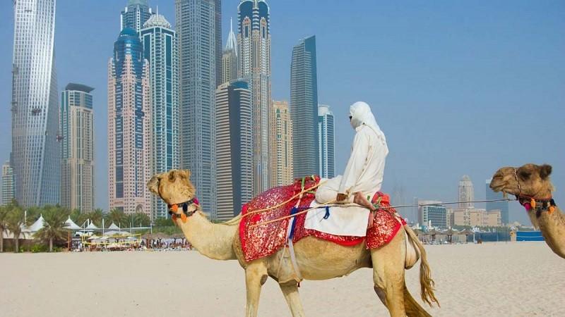 Пляжный отдых в Эмиратах