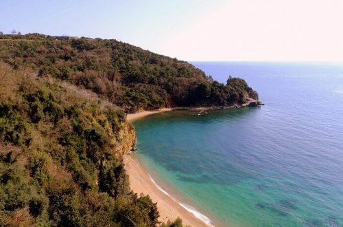 Внешний вид пляжа Могрен
