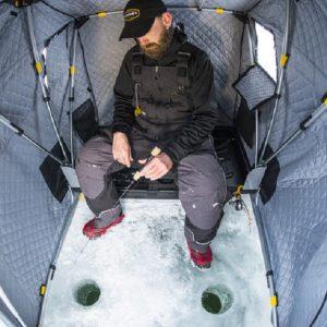Самодельная палатка для рыбалки
