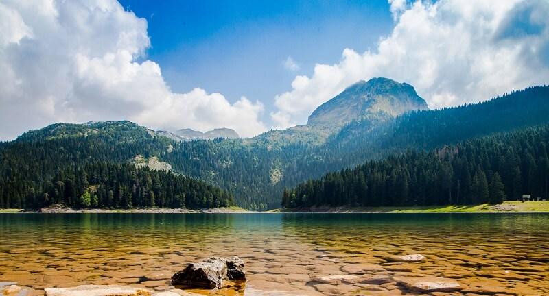 Озера заповедника Черногории