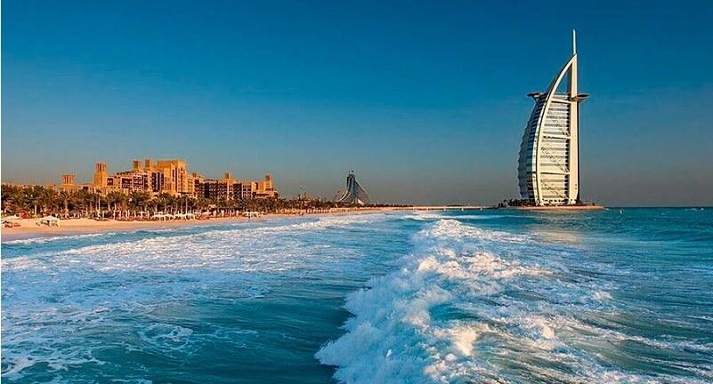 Море в ОАЭ