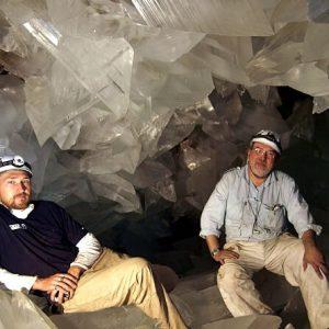 Сверкающая пещера в Испании