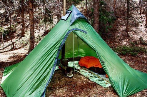 Легкая палатка для пеших походов