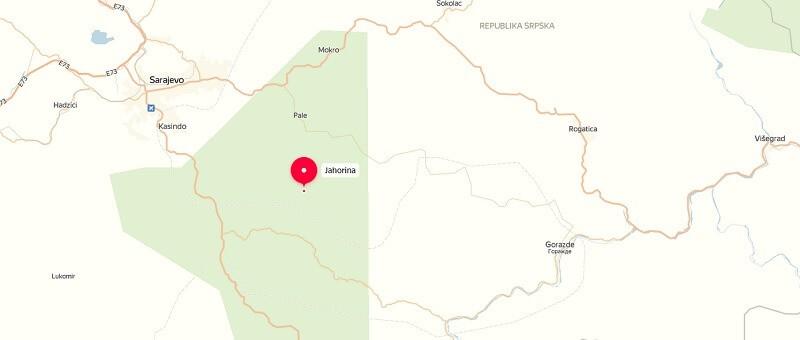 Карта проезда к Яхорина