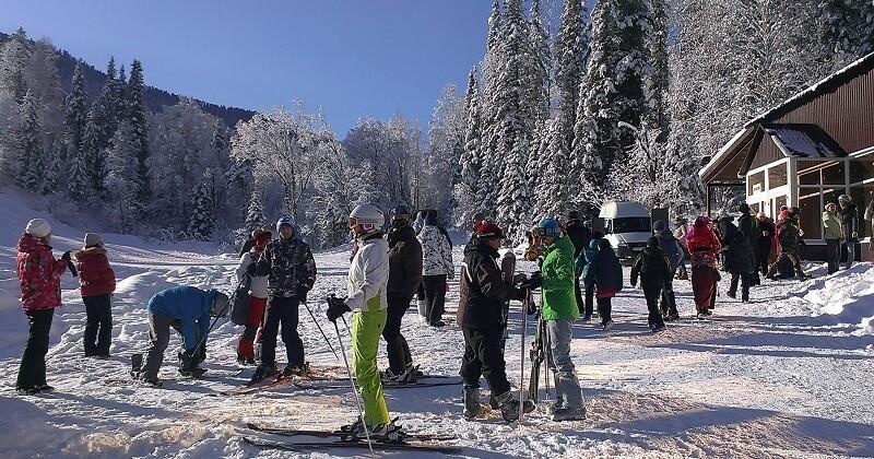 Лыжная база Перевал Семинский