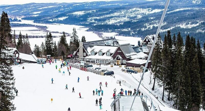 Лыжная база Оре Бьернен