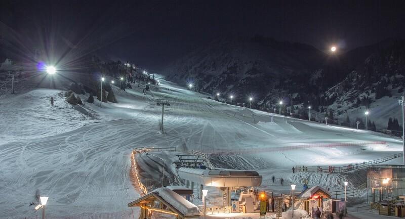 Лыжная база Дувет