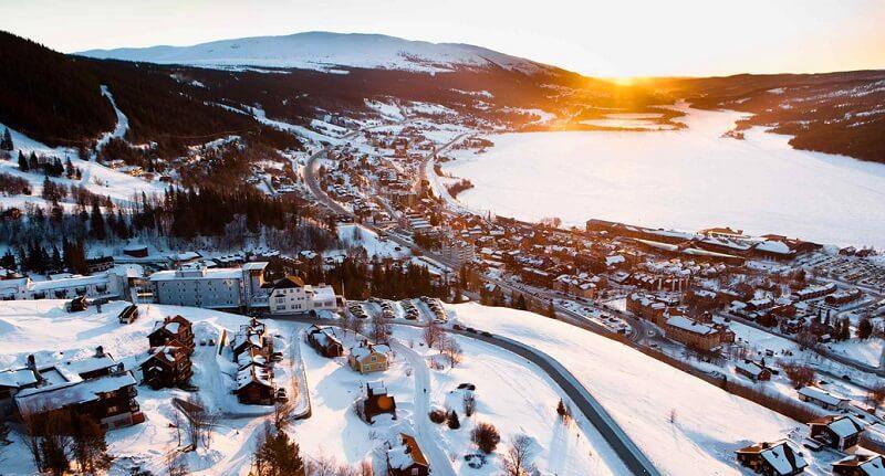 Лыжные курорты Швеции