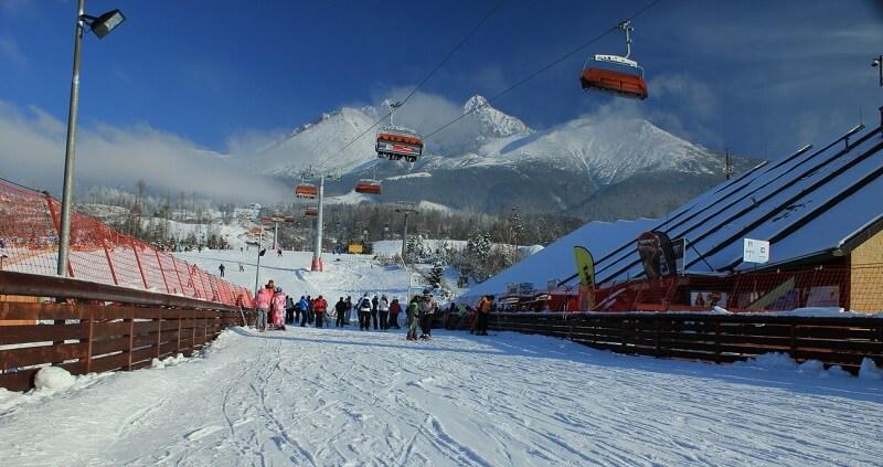 Лыжный комплекс Татранска Ломница