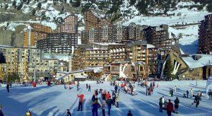 Лыжный курорт Авориаз