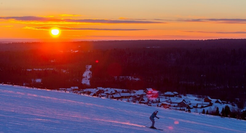 Лыжный курорт Любогорье