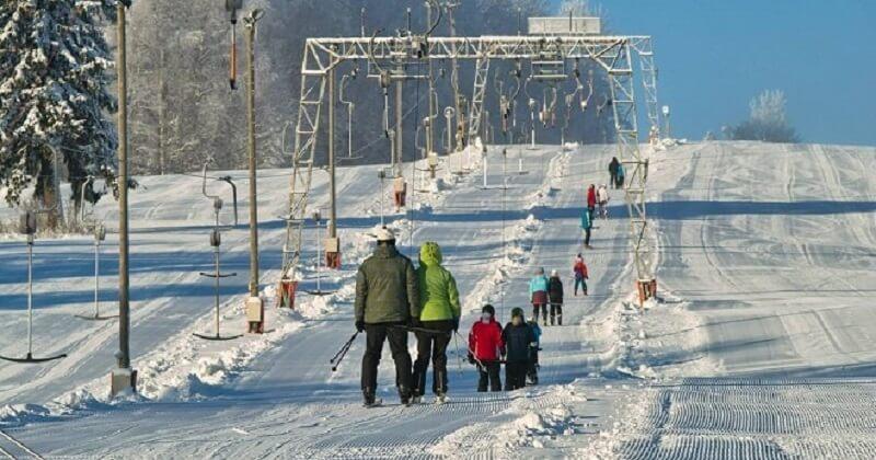Лыжный курорт Куутсемяэ
