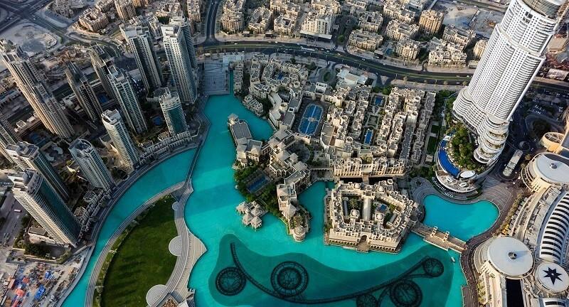 Парк в Burj Khalifa
