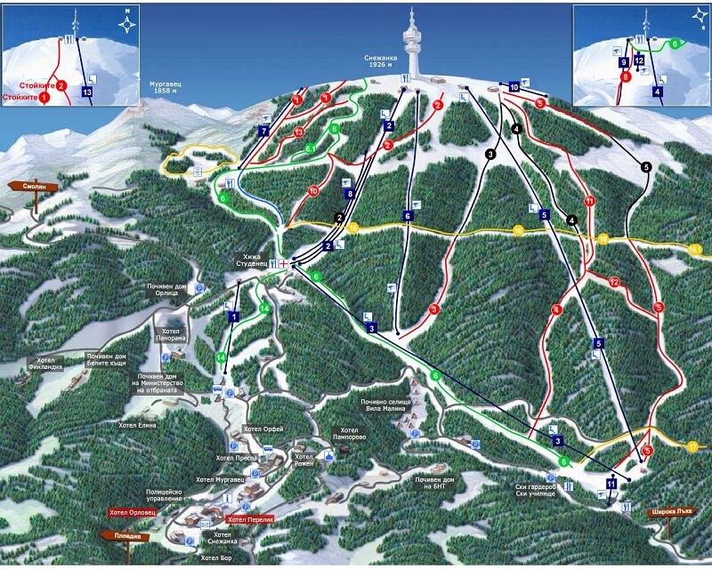 Лыжный курорт Пампорово