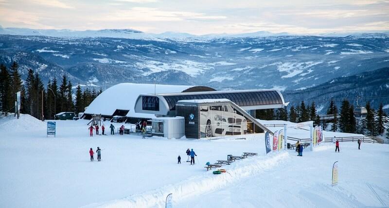 Лыжный комплекс Хафьель