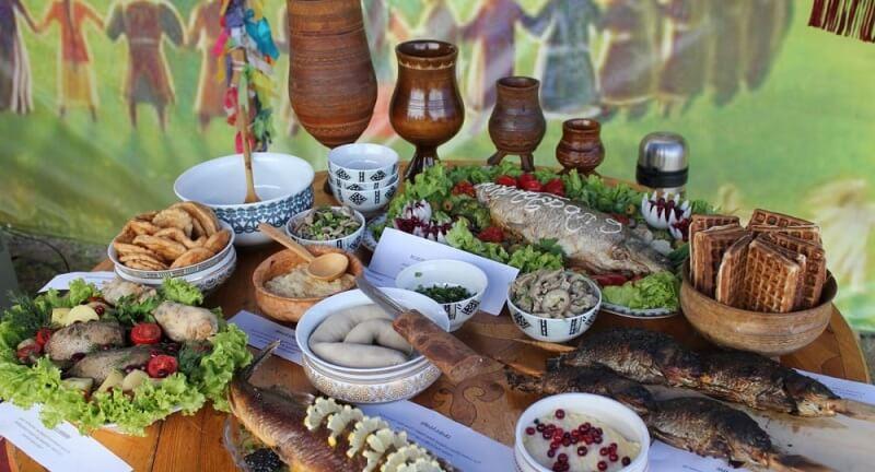 Блюда сибирской кухни