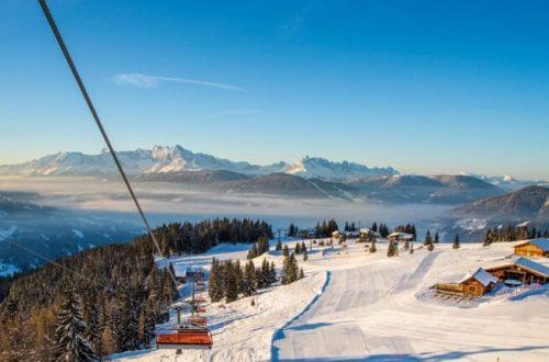 Лыжный курорт Флахау