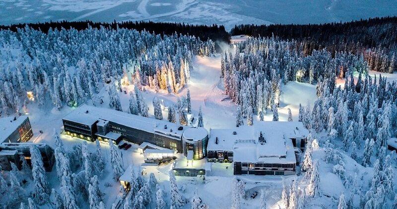 Лыжный курорт Коли