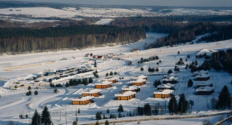 Лыжная база Малиновка