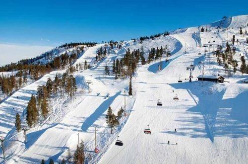 Лыжный курорт Пюхя