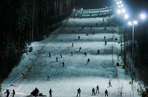 Лыжный курорт Танай