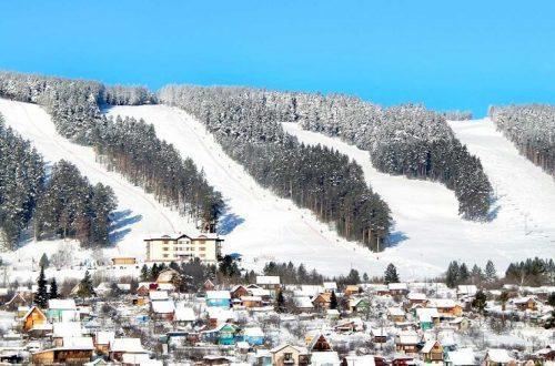Лыжный курорт в Белорецке