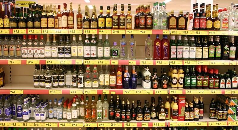 Магазины алкоголя в Фуджейре