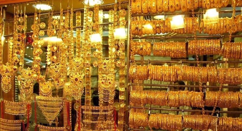 золотые украшения в Шардже
