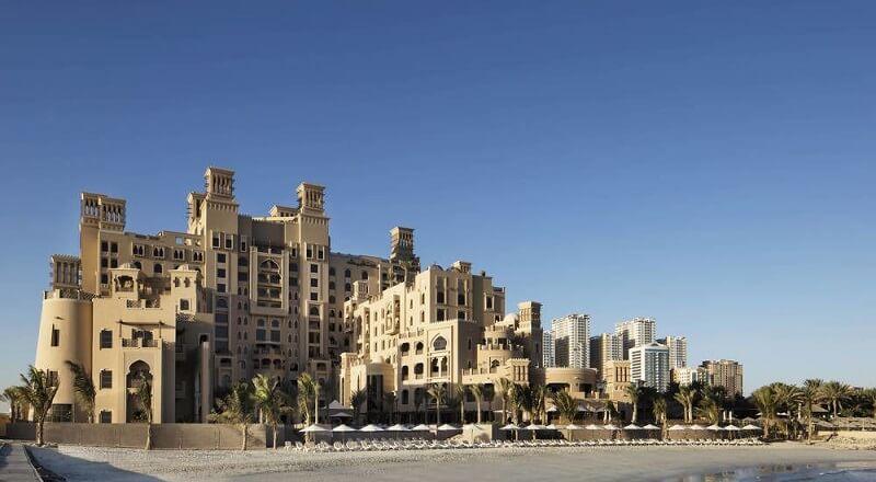 Пляж отеля Sheraton Sharjah