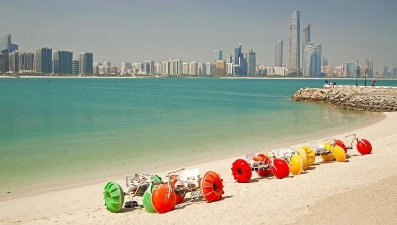 Пляжи в эмирате Шарджа
