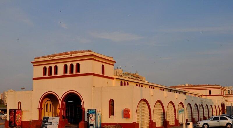 Шарджа, здание рыбного рынка