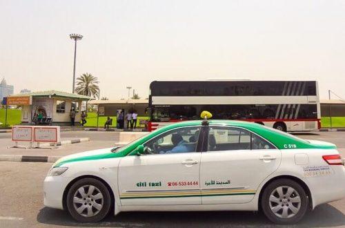Такси в эмирате Шарджа