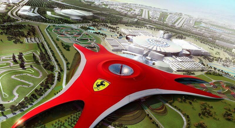 Ferrari Park Абу-Даби