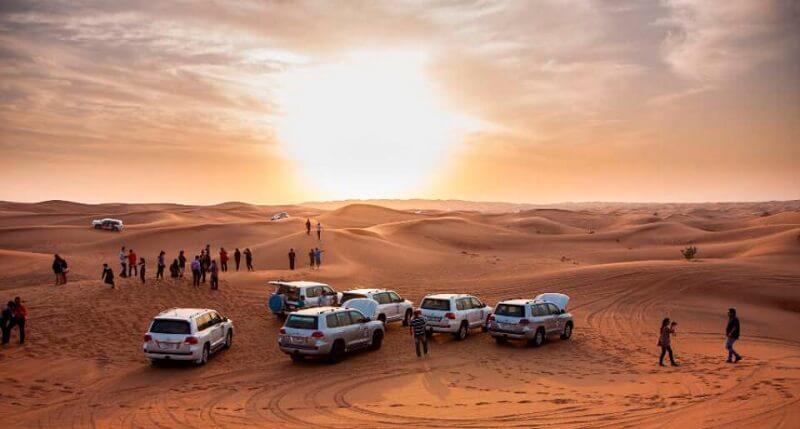 Сафари в пустыне из Шарджи