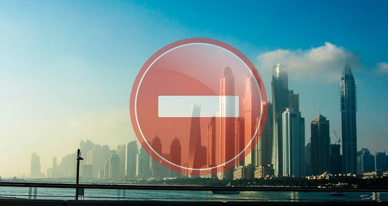 Ограничения интернета в ОАЭ
