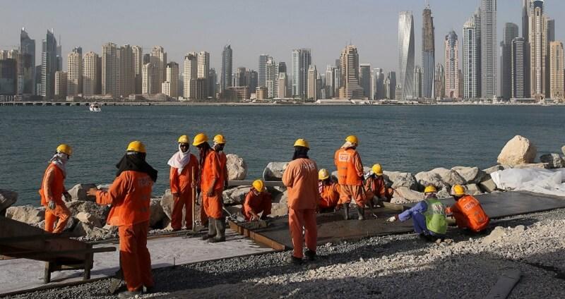 Трудовые мигранты ОАЭ
