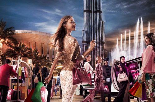 Распродажи на курорте Дубай