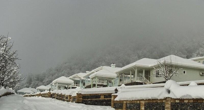 Лыжный курорт Габала (Туфандаг)
