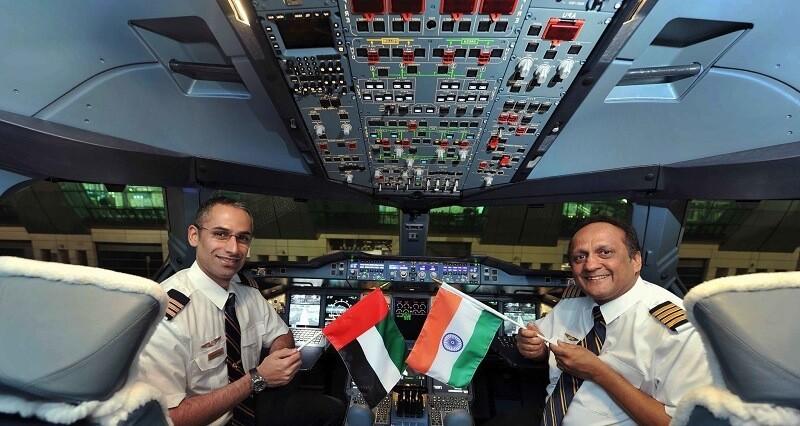 Зарплаты пилотов в Дубае