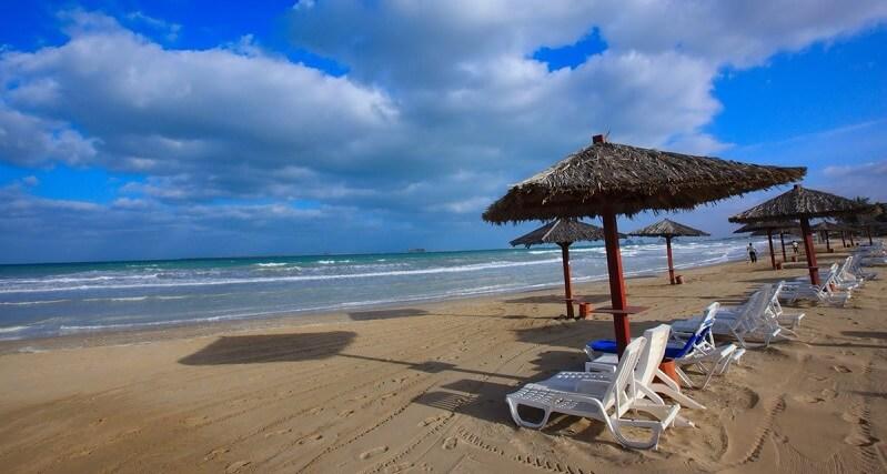 Плажи в эмирате Рас эль-Хайма