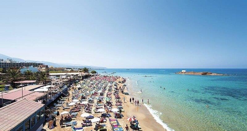 Греческий курорт Малья