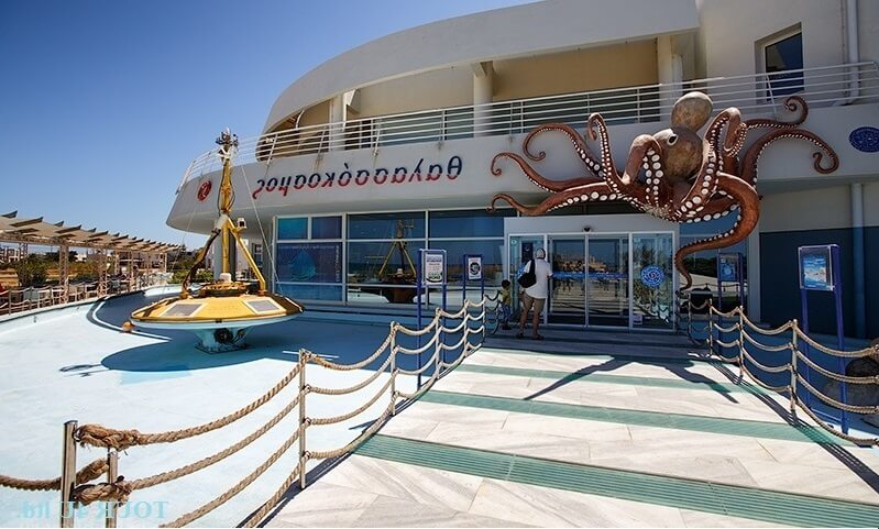 Океанариум на острове Крит